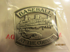 Detroit Tigers Tiger Stadium Metal Pin New In Package