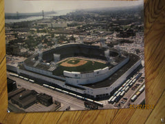 Detroit Tigers Tiger Stadium Aerial View 16 x 120 Color Photo