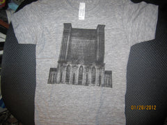 Michigan Central Train Station T Shirt Kids 4 American Apparel