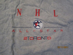 Toronto Maple Leafs 2000 All Star Game Embroidered Logo T Shirt XXL