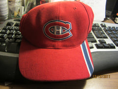Montreal Canadiens Logo Adjustable Hat By Bauer