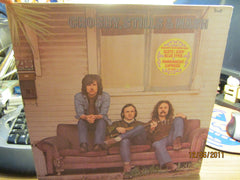 Crosby Stills & Nash S/T Debut LP 1st Pressing N.Mint + Lyric Insert