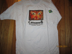 Giovannetti Shopping Dom Pedro Brazil T Shirt Large Beer Brasil