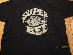 Super Bee Logo Vintage Fit Black T Shirt XL