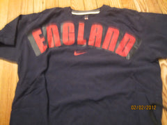 England World cup Soccer Team Navy T Shiirt XL Nike