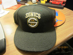 Seattle Supersonics Logo Fitted Hat New Era 7 1/2