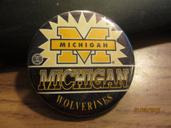 Michigan Wolverines Logo 2 1/4 Inch Pin