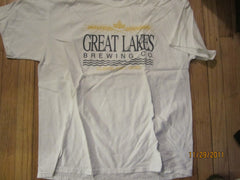 Great Lakes Brewing Co. Old Logo T Shirt XL Cleveland Beer