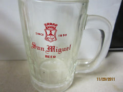 San Miguel Beer Heavyweight GlassBeer Mug Philippines