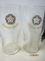 Samuel Smith's Brewery Tadcaster England Set(2) Pint Glasses