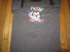 Felix The Cat Coffee House Ringer T Shirt Large