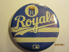 "Kansas City Royals Logo 2 1/4"" Round Pin"