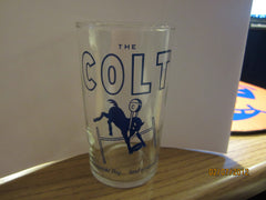 Baltimore Colts Vintage The Colt Small Beer Glass