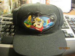Kellogg's Cereal City Mascots Black Adjustable Hat New W/Tag