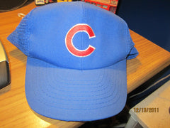 Chicago Cubs Original 80's Mesh Trucker Snapback Hat