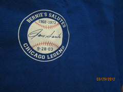 Chicago Cubs Bernies Salutes Ron Santo #10 T Shirt XL 9-28-2003