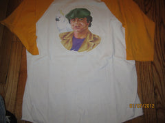 Barretta 80's Vintage Iron On Raglan T Shirt Large Robert Blake
