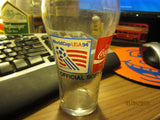 World Cup Soccer 1994 Logo Souvenir Coca Cola Glass