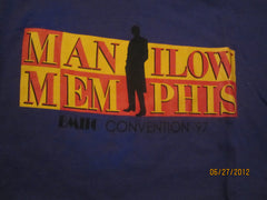 Barry Manilow 1997 Convention Memphis T Shirt Large