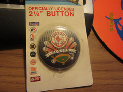 Boston Red Sox 2 1/4 Inch Pin Mint On Card