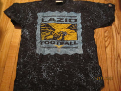 Lazio Football Logo Marble Looking T Shirt Large Italy
