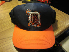 Detroit Tigers 90's Road Adjustable Snapback Hat New W/O Tag Logo 7