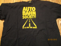 Autobahn Society Vintage Anti 55 MPG Speed Limit 1981 TShirt XL Kraftwerk