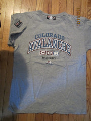 Colorado Avalanche Grey Practice T Shirt Large By CCM