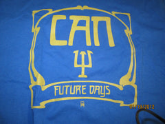 Can Future Days Cover Blue T Shirt Large Krautrock