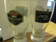 Upper Canada Brewing Co. Set Of Two Pint Glasses