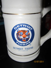Detroit Tigers Classic Old Logo Ceramic Beer Stein