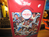 California Angels Surf Baseball Cards Book 1961-1986 SGA