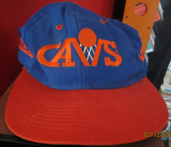 Cleveland Cavaliers Old Logo Snapback Hat By Competitor