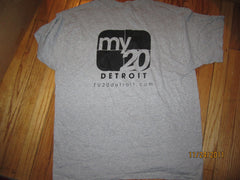 MY 20 Detroit TV20 Grey T Shirt XL