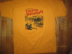 TWINSTIN TARANTULAS Attack Of The Vintage Detroit Rock Band T Shirt Large