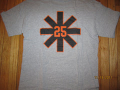 San Francisco Giants #25 Cheater T Shirt Large Barry Bonds