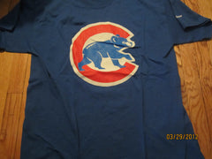 Chicago Cubs Large Logo Blue T Shirt XL SGA