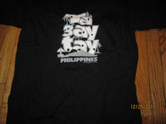 Tagaytay Philippines Logo Black T Shirt XL