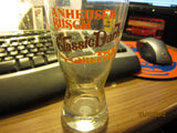 Anheuser Busch Classic Dark Shell Beer Glass Vintage