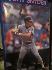 Cleveland Indian Cory Snyder 1987 Starline Poster New In Package