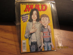 Michael Jackson And Alfred E Newman Mad Magazine Magnet