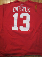 Detroit Red Wings #13 Pavel Datsyuk T Shirt XXL By Reebok
