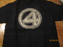 Fantastic 4 Logo Movie Promo T Shirt Large New W/O Tag