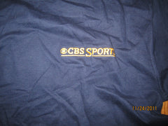 CBS Sports Embroidered Logo Promo T Shirt Medium New W/O Tag