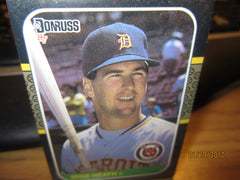 Detroit Tigers 1987 Donruss Card Set Sealed