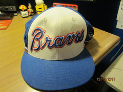 Atlanta Braves 1974 Logo Throwback Fitted Hat 7 1/2