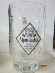 Alpirsbacher German 0.5ltr Heavyweight Beer Glass Stein