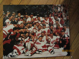 "Detroit Red Wings 1997 Stanley Cup Champions ""The Photo"" Color 16 x 20 Photo"