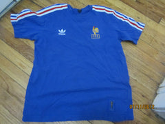 "France Football Soccer ""Les Blues"" Jersey By Adidas Small"