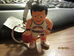 New York Knicks White Jersey L'il Brat Keychain